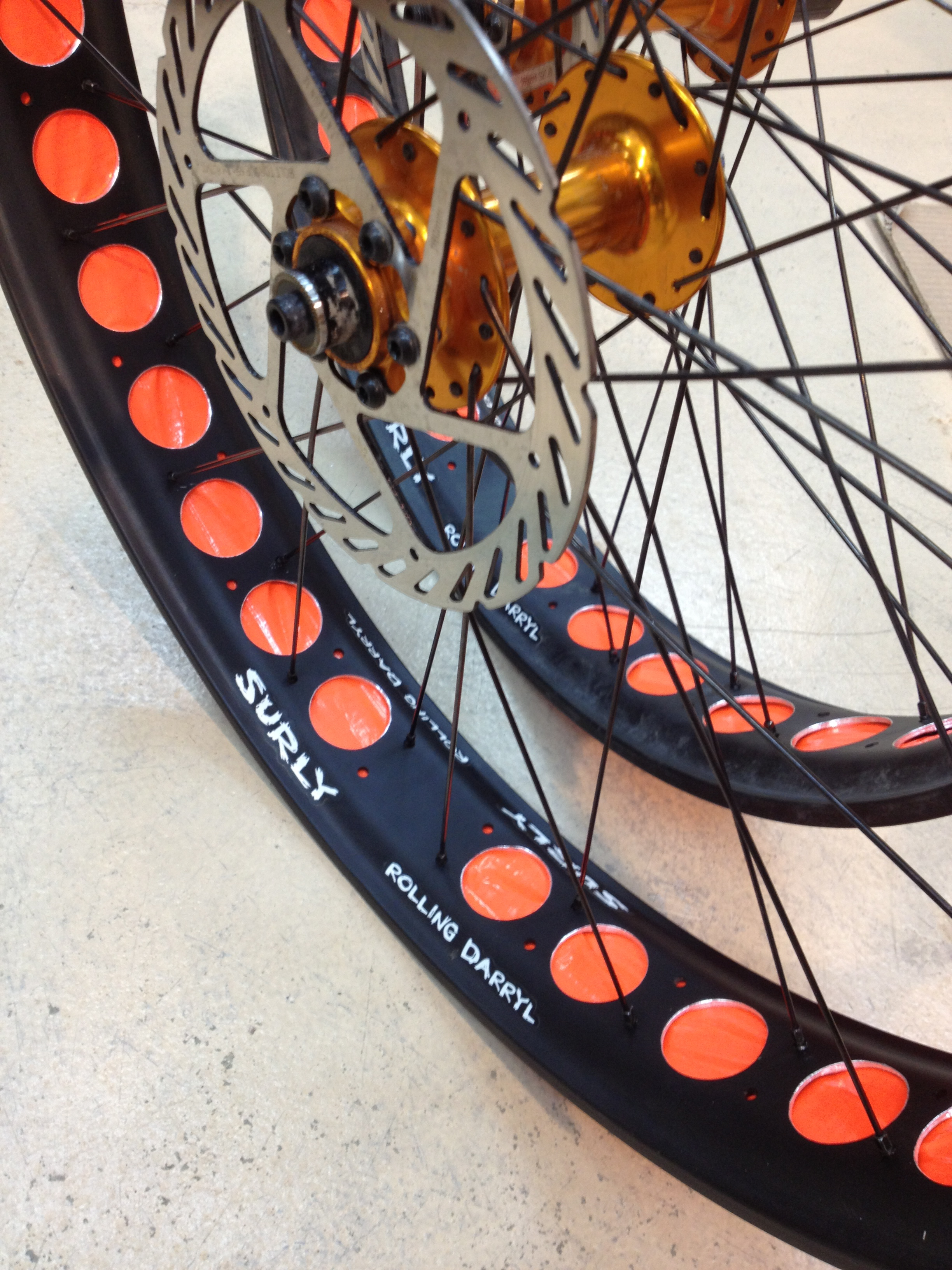 Drilled Fat Bike Rims Venga Velo